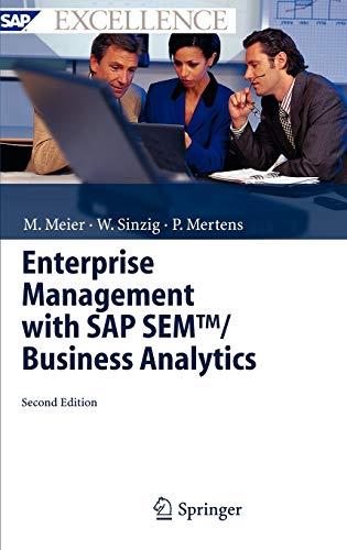 9783540228066: Enterprise Management with SAP SEM™/ Business Analytics (SAP Excellence)