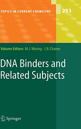 9783540228356: DNA Binders and Related Subjects (Topics in Current Chemistry)