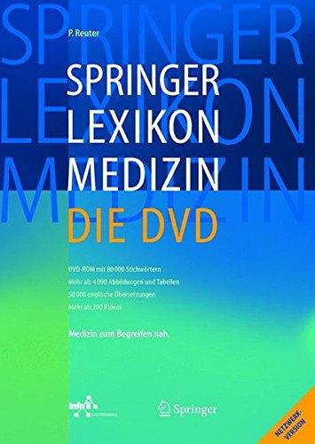9783540229384: Springer Lexikon Medizin - Die DVD: Netzwerkversion (Springer-Wvrterbuch)