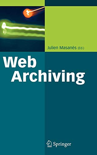 9783540233381: Web Archiving