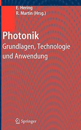 9783540234388: Photonik: Grundlagen, Technologie und Anwendung (German Edition)