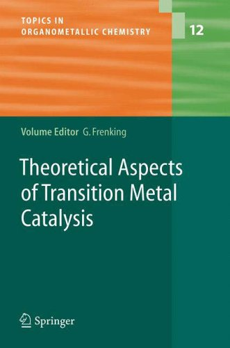 Theoretical Aspects of Transition Metal Catalysis: Gernot Frenking