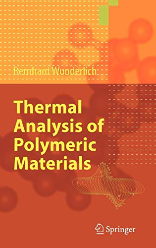9783540236290: Thermal Analysis of Polymeric Materials