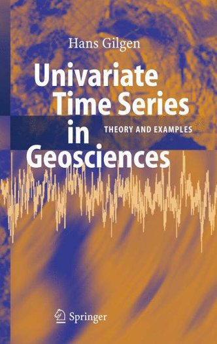 Univariate Time Series in Geosciences: Hans Gilgen