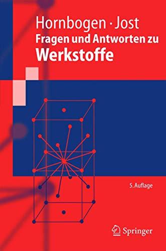 9783540239024: Fragen und Antworten zu Werkstoffe (Springer-Lehrbuch)