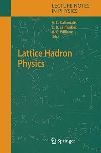 Lattice Hadron Physics (Lecture Notes in Physics)