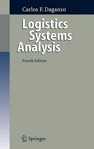 9783540239147: Logistics Systems Analysis