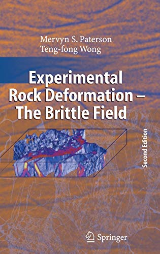 9783540240235: Experimental Rock Deformation: The Brittle Field, 2nd Edition