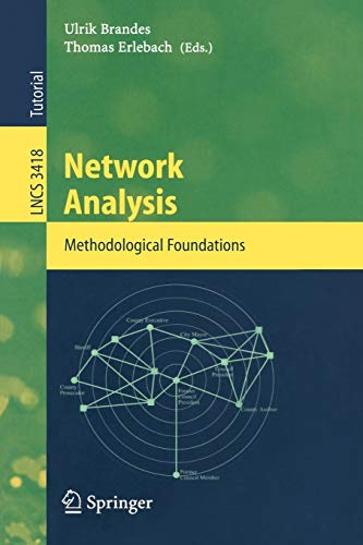 9783540249795: Network Analysis: Methodological Foundations (Lecture Notes in Computer Science)