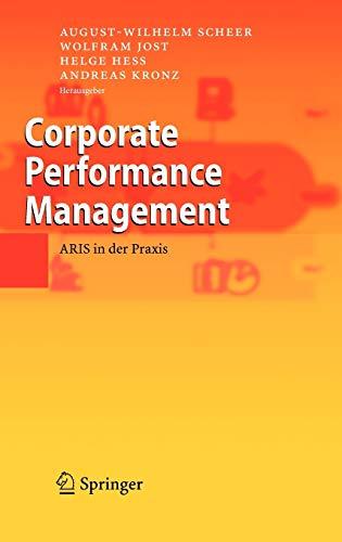 9783540250074: Corporate Performance Management: ARIS in der Praxis (German Edition)
