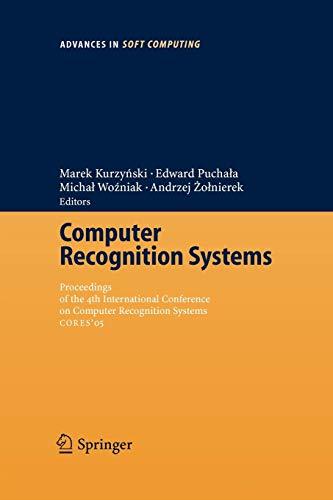 Computer Recognition Systems: Marek Kurzynski