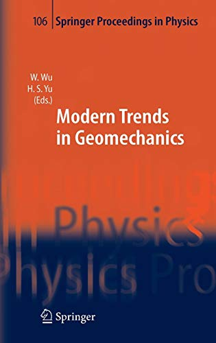 9783540251354: Modern Trends in Geomechanics (Springer Proceedings in Physics)