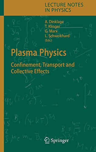 9783540252740: Plasma Physics: Confinement, Transport and Collective Effects (Lecture Notes in Physics)