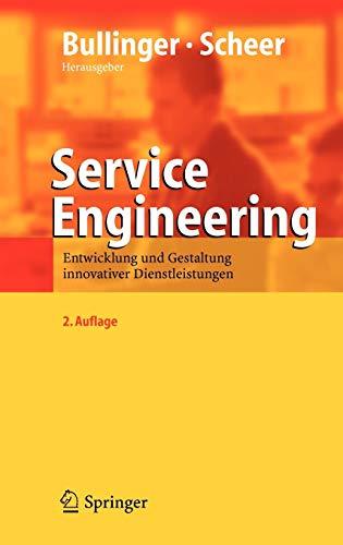 9783540253242: Service Engineering: Entwicklung Und Gestaltung Innovativer Dienstleistungen