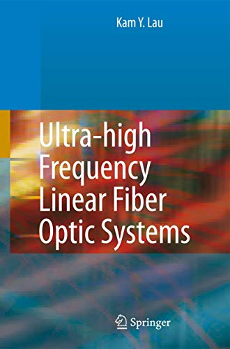 9783540253501: Ultra-high Frequency Linear Fiber Optic Systems