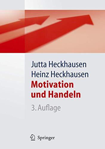 9783540254614: Motivation und Handeln (Springer-Lehrbuch) (German Edition)