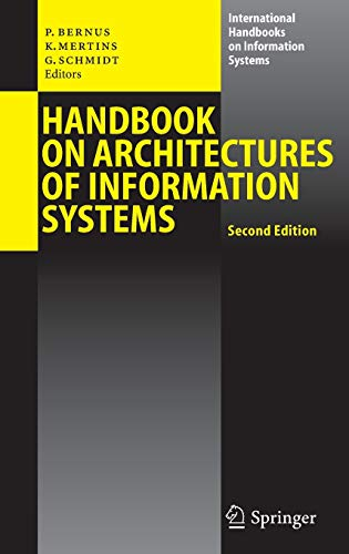 Handbook on Architectures of Information Systems: Peter Bernus