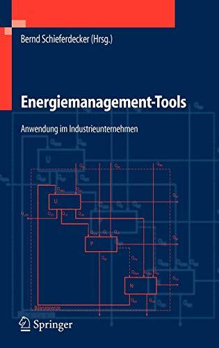9783540254782: Energiemanagement-Tools: Anwendung im Industrieunternehmen (VDI-Buch)