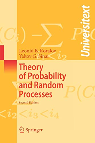 9783540254843: Theory of Probability and Random Processes (Universitext)