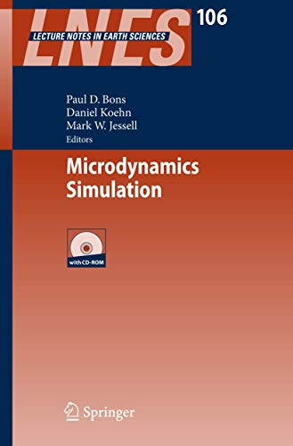 9783540255222: Microdynamics Simulation (Lecture Notes in Earth Sciences)