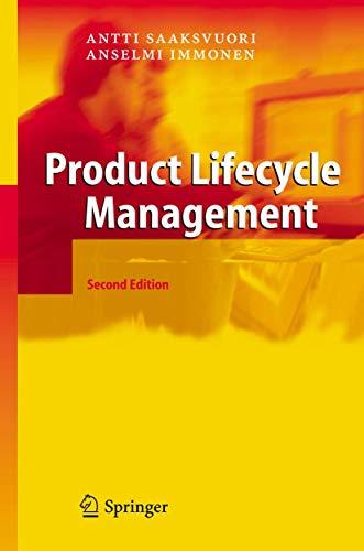 Product Lifecycle Management: Saaksvuori, Antti, Immonen,