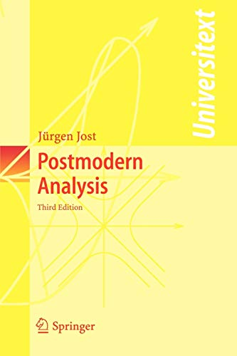 9783540258308: Postmodern Analysis (Universitext)
