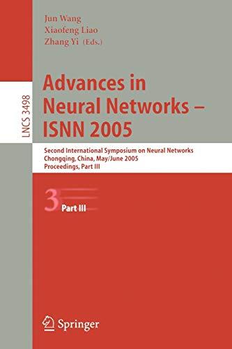 Advances in Neural Networks - ISNN 2005: jun (editor) ;