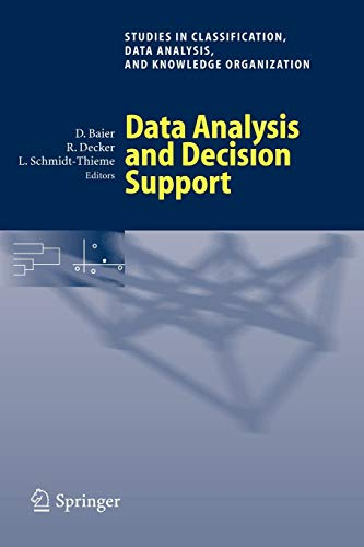 9783540260073: Data Analysis and Decision Support (Studies in Classification, Data Analysis, and Knowledge Organization)