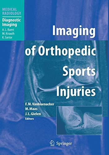 9783540260141: Imaging of Orthopedic Sports Injuries (Medical Radiology)