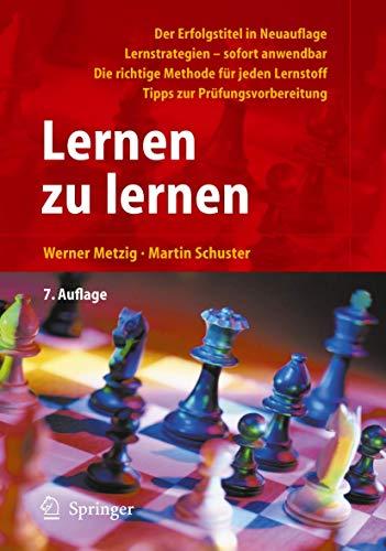 9783540260301: Lernen zu lernen: Lernstrategien wirkungsvoll einsetzen (German Edition)
