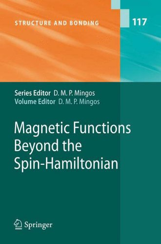 Magnetic Functions Beyond the Spin-Hamiltonian: D. M. P. Mingos