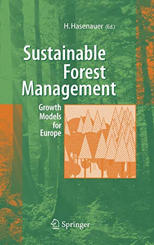 9783540260981: Sustainable Forest Management: Growth Models for Europe