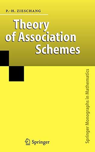 9783540261360: Theory of Association Schemes (Springer Monographs in Mathematics)