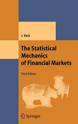 9783540262855: The Statistical Mechanics of Financial Markets (Theoretical and Mathematical Physics)