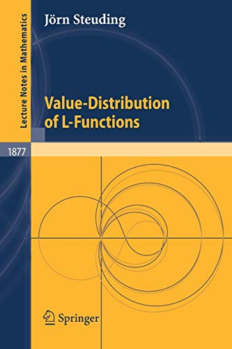 9783540265269: Value-Distribution of L-Functions (Lecture Notes in Mathematics)