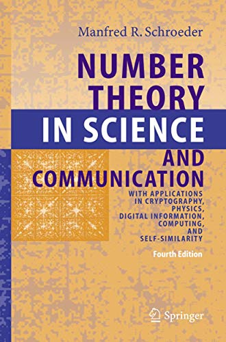Number Theory in Science and Communication: With: M.R. Schroeder