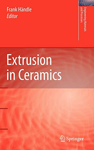 9783540271000: Extrusion in Ceramics (Engineering Materials and Processes)
