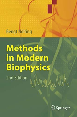 9783540277033: Methods in Modern Biophysics