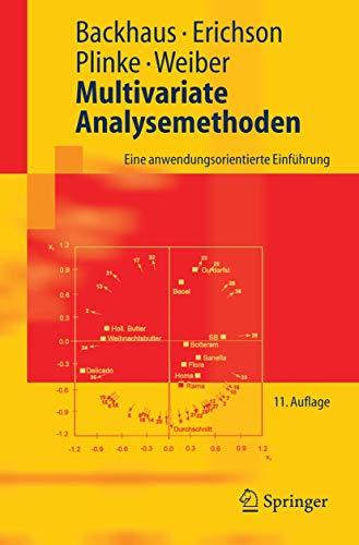 9783540278702: Multivariate Analysemethoden: Eine Anwendungsorientierte Einfuhrung (Springer-Lehrbuch)