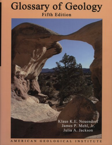 9783540279518: Glossary of Geology