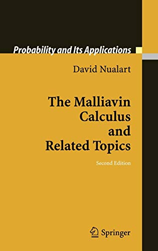 9783540283287: The Malliavin Calculus and Related Topics (Probability and Its Applications)
