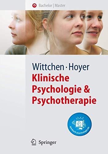 9783540284680: Klinische Psychologie & Psychotherapie (Springer-Lehrbuch) (German Edition)