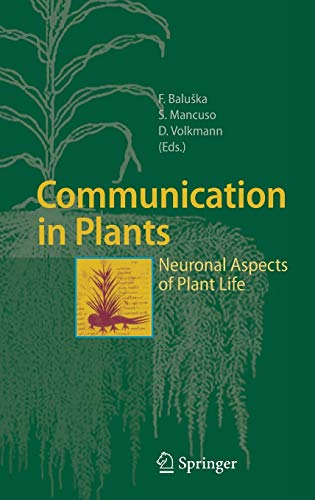 9783540284758: Communication in Plants: Neuronal Aspects of Plant Life