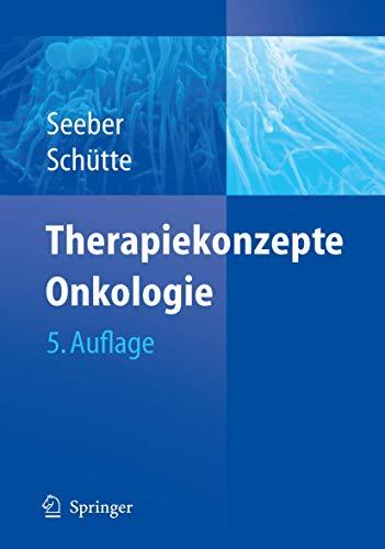 9783540285885: Therapiekonzepte Onkologie