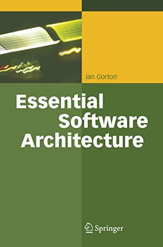 9783540287131: Essential Software Architecture