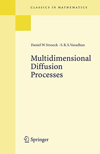 9783540289982: Multidimensional Diffusion Processes