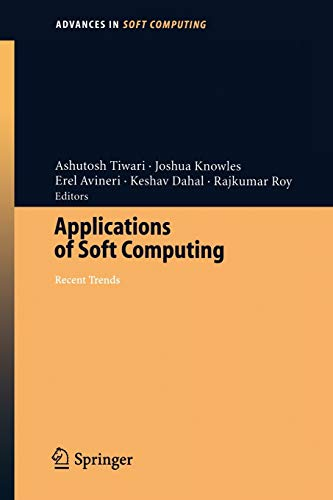 Applications of Soft Computing: Ashutosh Tiwari