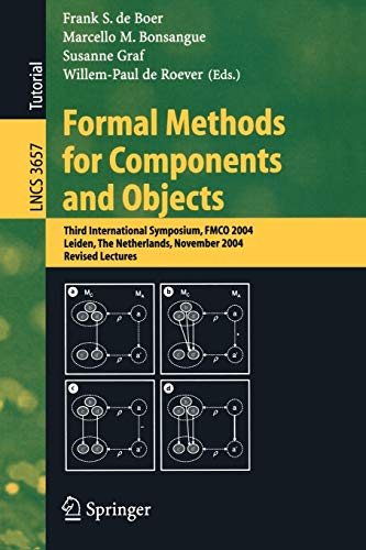 Formal Methods for Components and Objects: Third
