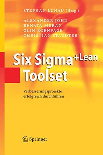 9783540291411: Six Sigma+Lean Toolset: Verbesserungsprojekte erfolgreich durchführen (German Edition)