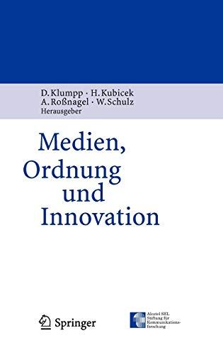 9783540291572: Medien, Ordnung und Innovation (German Edition)